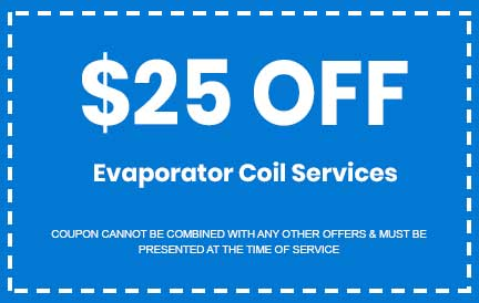Discount on Evaporator Coil Services