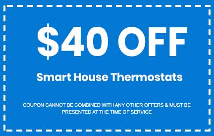 Discount on Smart House Thermostats