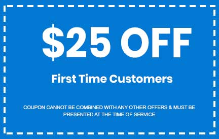 Discount for First Time Customers