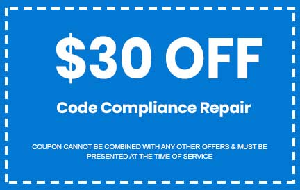Discount on Code Compliance Repair