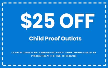 Discount on Child Proof Outlets