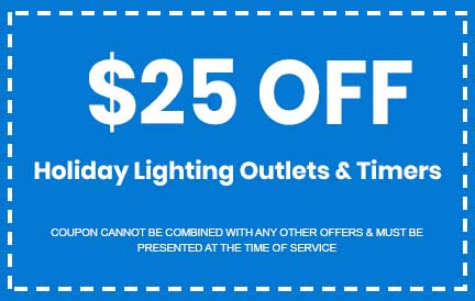 Discount on Holiday Lighting Outlets & Timers