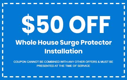 Discount on Whole House Surge Protector Installation