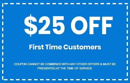 Discount on First Time Customers