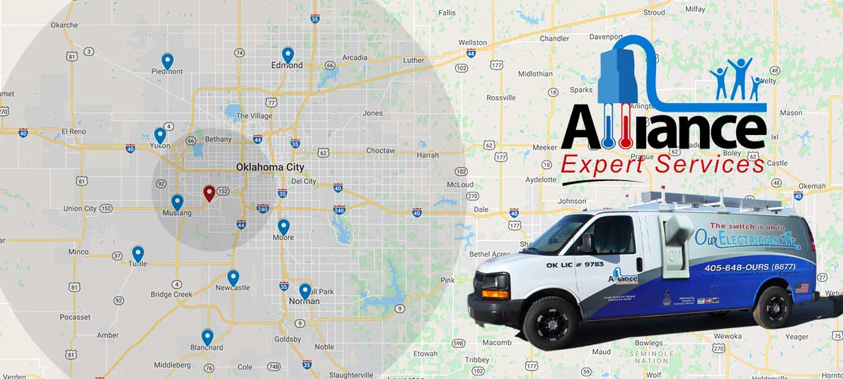 Areas We Serve - Alliance Expert Services